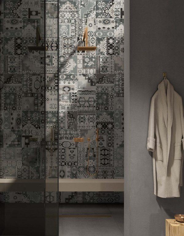 BENEDIKT TILES ABK Play Carpet Mix Grey 20x20 nat.