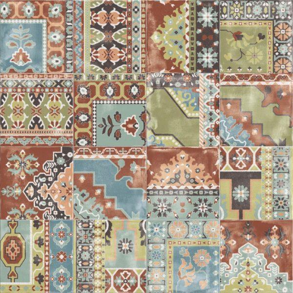 BENEDIKT TILES ABK Play Carpet Mix Multicolor 20x20 nat.