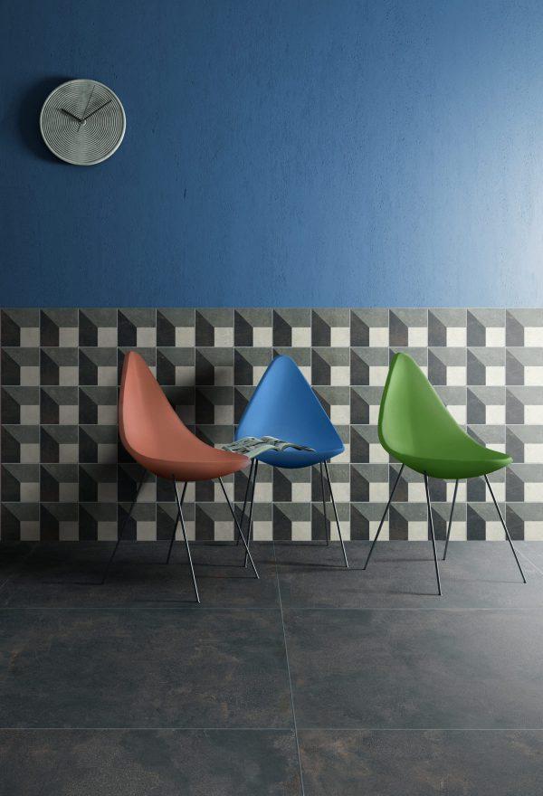 BENEDIKT TILES ABK Play Concrete Design C 20x20 nat.