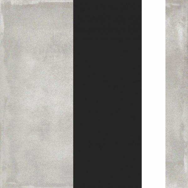 BENEDIKT TILES ABK Play Edge Mix Grey 20x20 nat.