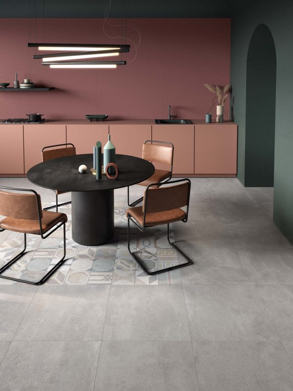 BENEDIKT TILES ABK Blend Concrete Ash 30x60 nat. rett.