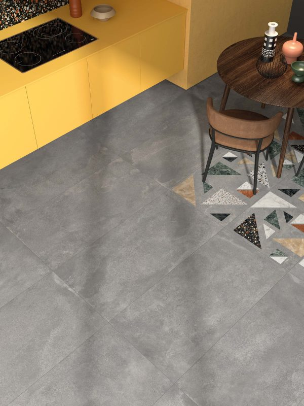 BENEDIKT TILES ABK Blend Concrete Grey 30x60 nat. rett.
