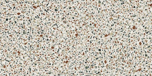 BENEDIKT TILES ABK Blend Dots Multiwhite 30x60 nat. rett.