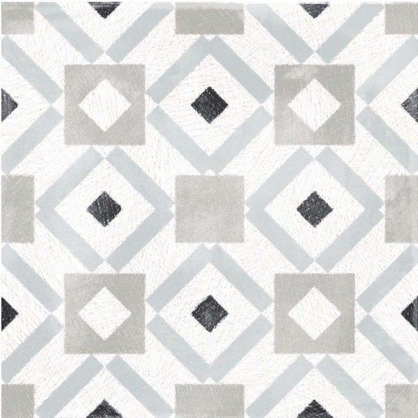 BENEDIKT TILES ABK Play Labyrinth Mix Grey 20x20 nat.