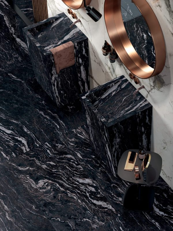 BENEDIKT TILES ABK Sensi Gems Titanium Black 60x120 lux rett.