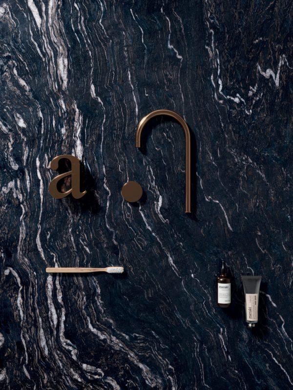 BENEDIKT TILES ABK Sensi Gems Titanium Black 60x120 nat. rett.